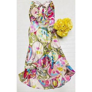 Alice & Trixie Pink Art Deco Boho Chic Dress